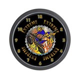 Dirtbike Extreme Wall Clock