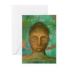 Buddha Blank Greeting Card