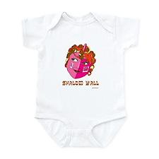 Shalom Y'all Dreidel Infant Bodysuit