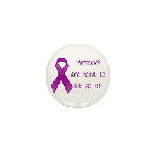 Alzheimers Awareness Mini Button (100 pack)