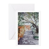 &amp;quot;Siesta Shade&amp;quot; Blank Greeting Card