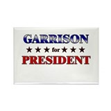 GARRISON for president Rectangle Magnet (10 pack)