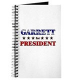 GARRETT for president Journal