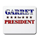 GARRET for president Mousepad