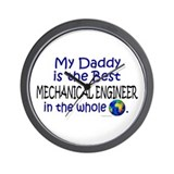 Best Mechanical Engineer (Daddy) Wall Clock