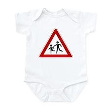 Children Crossing Infant Bodysuit