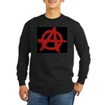 Anarchy Long Sleeve Dark T-Shirt