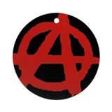 Anarchy Ornament (Round)