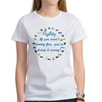 Dog Agility Fun Women's T-Shirt