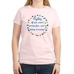 Dog Agility Fun Women's Light T-Shirt