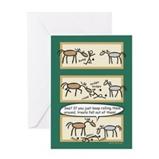 Horse Treats Holiday Card (Message on Inside)