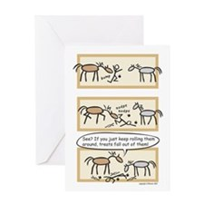 Horse Treats Birthday Card (message on inside)