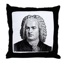Bach Throw Pillow