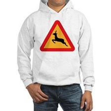 Deer Crossing Hooded Sweatshirt