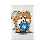 Doggie Bag Pom Rectangle Magnet (100 pack)