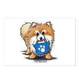 Doggie Bag Pom Postcards (Package of 8)