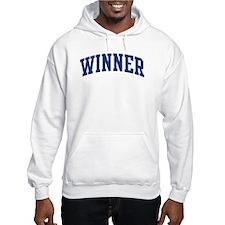 WINNER design (blue) Hoodie
