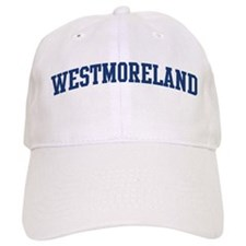 WESTMORELAND design (blue) Baseball Cap