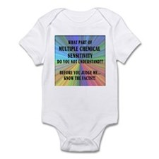 MCS America - Know the Facts Infant Bodysuit