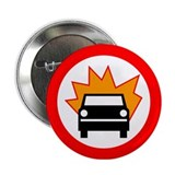 "Exploding Car 2.25"" Button"