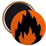 "Fire 2.25"" Magnet (10 pack)"