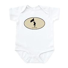 Color Guard (euro-brown) Infant Bodysuit
