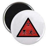 "Radiation Hazard 2.25"" Magnet (10 pack)"