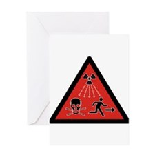 Radiation Hazard Greeting Card