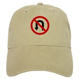 No U Turn Baseball Cap