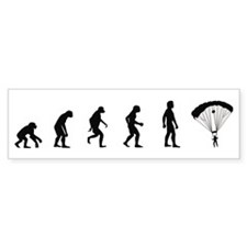 Evolution of Skydiving Bumper Bumper Sticker