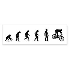 Evolution of Mountain Biking Bumper Bumper Sticker