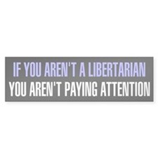 Libertarian Bumper Car Sticker