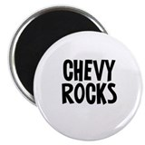 Chevy Rocks Magnet