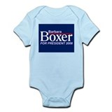 BARBARA BOXER 2008 Infant Creeper