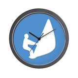 Windsurfing Wall Clock