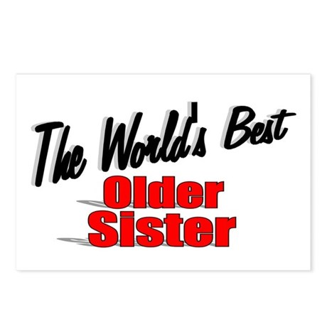 """The World's Best Older Sister"" Postcards (Package"