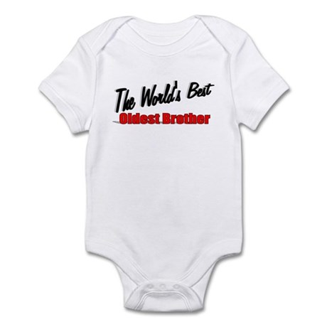 """The World's Best Oldest Brother"" Infant Bodysuit"