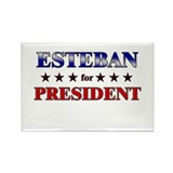 ESTEBAN for president Rectangle Magnet (10 pack)