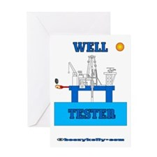 Well Tester Greeting Card