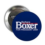 BARBARA BOXER 2008 Button
