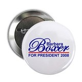 "BARBARA BOXER 2008 2.25"" Button (10 pack)"