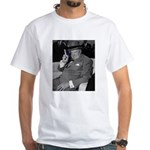 Purple Revolution Churchill 2 White T-Shirt