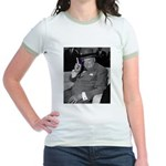 Purple Revolution Churchill 2 Jr. Ringer T-Shirt