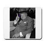Purple Revolution Churchill 2 Mousepad