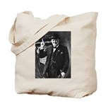Purple Revolution Churchill 3 Tote Bag