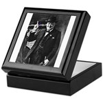 Purple Revolution Churchill 3 Keepsake Box