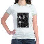 Purple Revolution Churchill 3 Jr. Ringer T-Shirt
