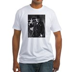 Purple Revolution Churchill 3 Fitted T-Shirt