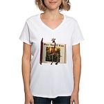 Gerry Giraffe Women's V-Neck T-Shirt