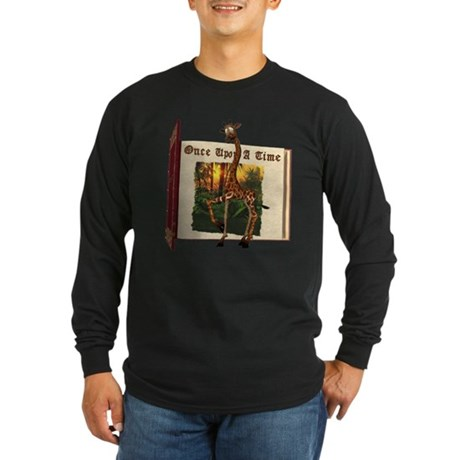 Gerry Giraffe Long Sleeve Dark T-Shirt
